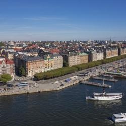 Strandvägen Stockholm, arkivbild.